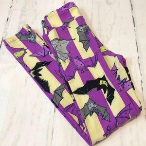 LuLaRoe Tween Bat Leggings